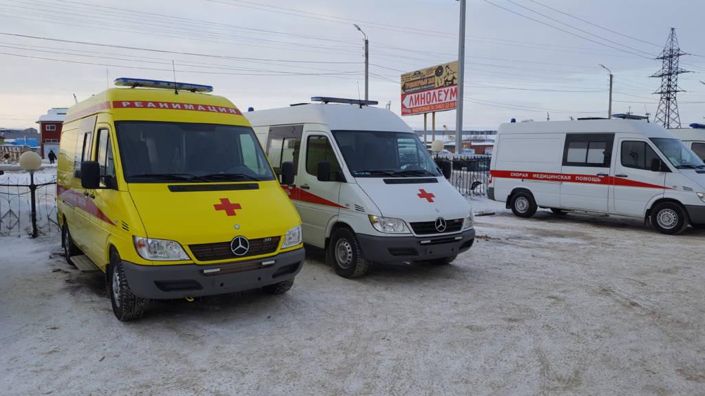 Новые Mersedes-Benz на службе скорой помощи