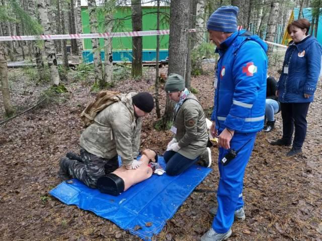 Соревнования по первой помощи прошли в «Сказке»