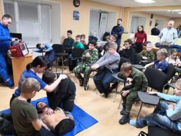 «Союз морских пехотинцев» обучили навыкам первой помощи