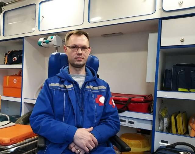 Юрий Кочнев — фельдшер скорой помощи — профессионал!
