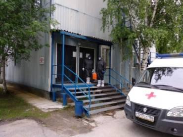 Бригада скорой Нефтеюганска в Пойковском